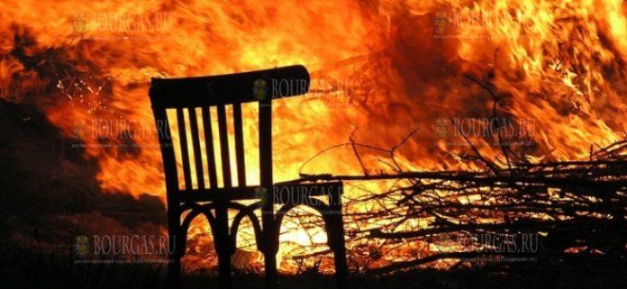 В Болгарии в Рождественские праздники тушат почти по 60 пожаров в день