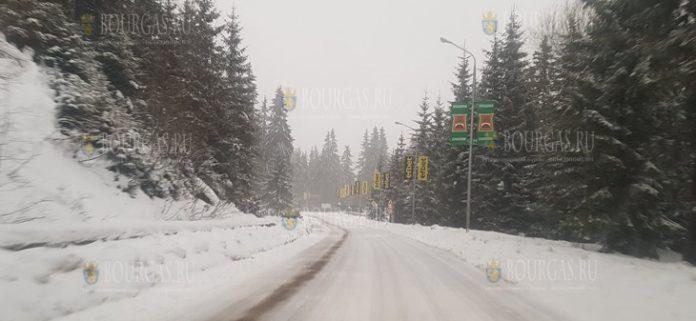 В Пампорово идет снег