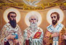 Болгария чтит святых Василия Великого, Григория Богослова и Иоанна Златоуста