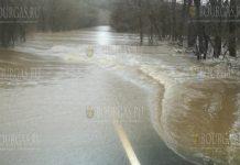 Дорога Ахтополь - Синеморец пока остается под водой