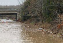 наводнение в Бургассой области на трассе Бургас - Созополь