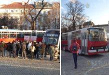 Общественному транспорту Софии сегодня исполнилось 120 лет