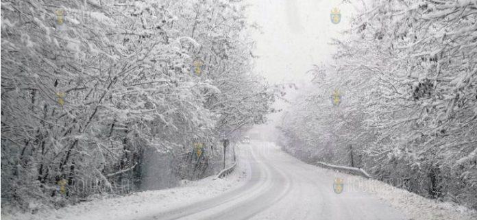 снегопады в Болгарии