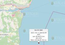 11 февраля 2021 года землетрясение в Болгарии
