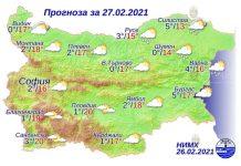 27 февраля погода в Болгарии