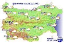 28 февраля погода в Болгарии