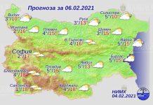 6 февраля погода в Болгарии