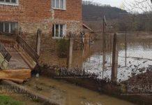 Река Велека затопила села Бургасской области