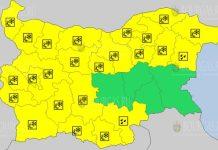 22 марта 2021 года Желтый код в Болгарии