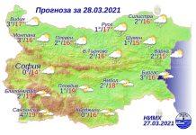 28 марта погода в Болгарии