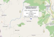 7 марта 2021 года землетрясение в Болгарии