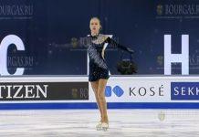 Александра Фейгин на Чемпионате Мира в Стокгольме 2021 год