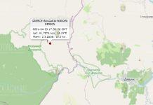 23 апреля 2021 года землетрясение в Болгарии