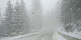 апрельский снег в Пампорово