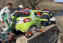 Болгарский экипаж серьезно пострадал в аварии на ралли в Румынии
