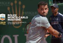 Григор Димитров на турнире Monte-Carlo Rolex Masters