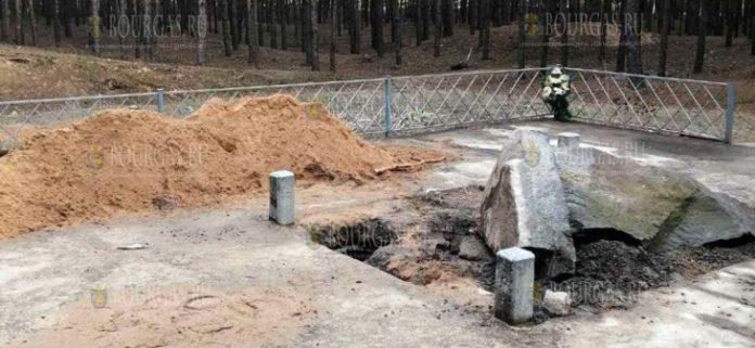 В Украине осквернили памятник хану Кубрату