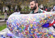 В Варне собрали 36 тонн крышек от пластиковых бутылок