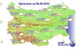 6 мая 2021 года погода в Болгарии