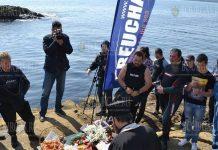 Дайверы в Бургасе отметили Пасху 2021 под водой