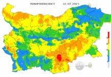 12 июля пожары в Болгарии