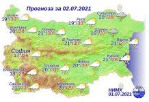 2 июля 2021 года землетрясение в Болгарии