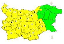 4 августа горячий Желтый Код в Болгарии