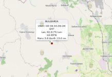 6 августа 2021 года землетрясение в Болгарии