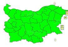 7 августа штормовой Желтый Код в Болгарии
