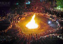 Фестиваль народного костюма в болгарском селе Жеравна