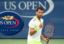 Григор Димитров на US Open