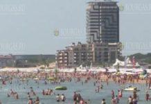 пляжи Солненчого береега летом 2021 года заполнены