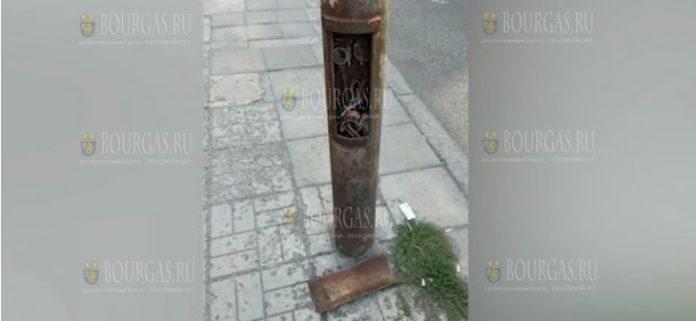 вандалы в Бургасе