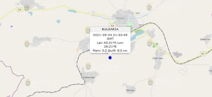 4 сентября 2021 года землетрясение в Болгарии