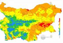 8 сентября 2021 года пожароопасность в Болгарии