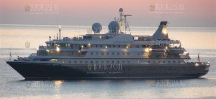 Круизное судно Sea Dream II прибывает в Болгарию