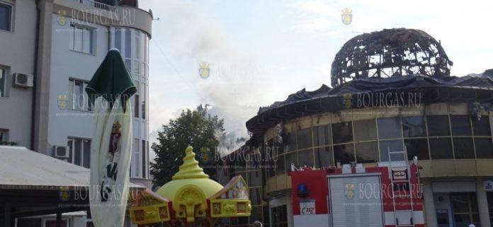 сгорело культовое зданние Благоевграда - Купола