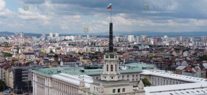 София столица Болгарии вид с крыши