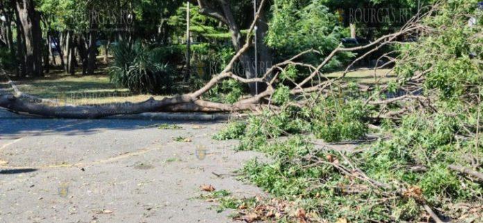 ураган в Бургасе