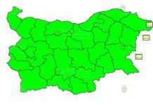 1 октября штормовой Желтый Код в Болгарии