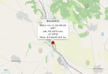 11 октября 2021 года землетрясение в Болгарии