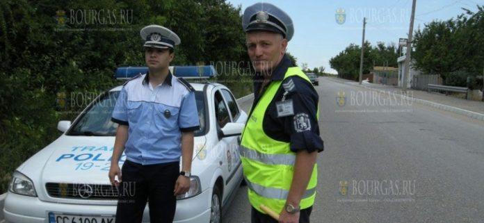 Болгарские и румынские полицейские